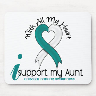 Cervical Cancer I Support My Aunt Mouse Pad