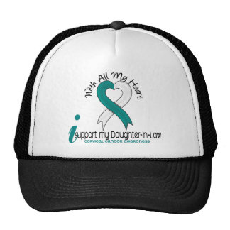 Cervical Cancer I Support My Daughter-In-Law Hats