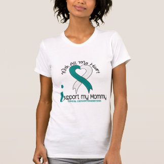 Cervical Cancer I Support My Mommy T Shirt