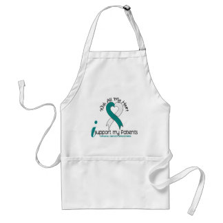 Cervical Cancer I Support My Patients Adult Apron