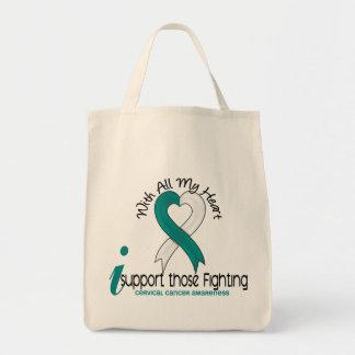 Cervical Cancer I Support Those Fighting Tote Bag