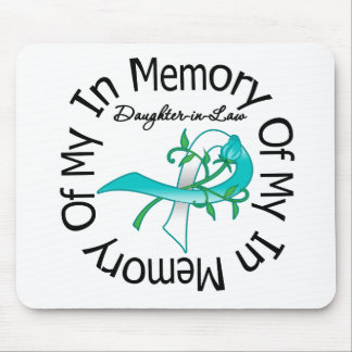 Cervical Cancer In Memory of My Daughter-in-Law Mouse Pad
