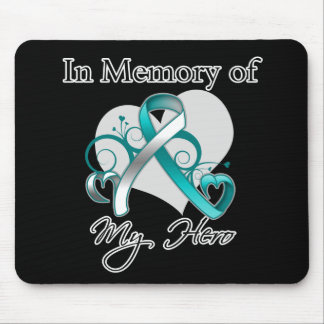 Cervical Cancer In Memory of My Hero Mousepads