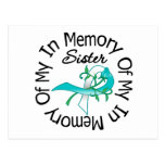 Cervical Cancer In Memory of My Sister Post Cards