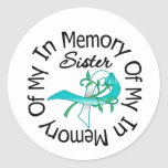 Cervical Cancer In Memory of My Sister Sticker