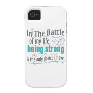 Cervical Cancer In The Battle iPhone 4/4S Covers