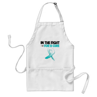 Cervical Cancer In The Fight For a Cure Adult Apron
