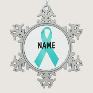 Cervical Cancer Memorial Ornament