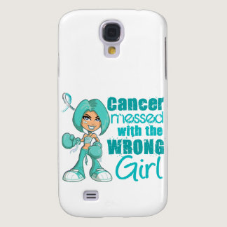 Cervical Cancer Messed With Wrong Girl Samsung Galaxy S4 Case