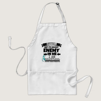 Cervical Cancer Met Its Worst Enemy in Me Adult Apron