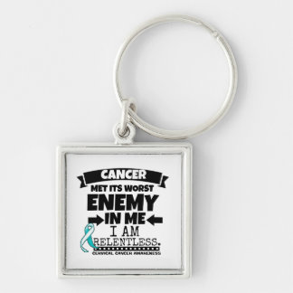 Cervical Cancer Met Its Worst Enemy in Me Keychain
