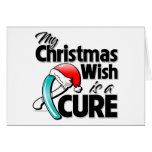 Cervical Cancer My Christmas Wish is a Cure Card