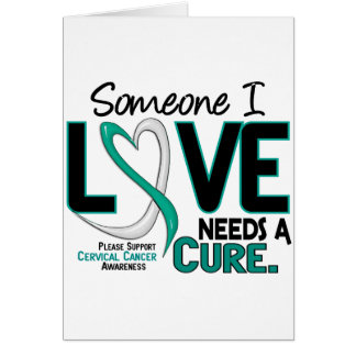 Cervical Cancer NEEDS A CURE 2 Card