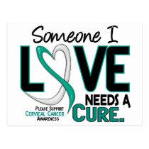 Cervical Cancer NEEDS A CURE 2 Postcard