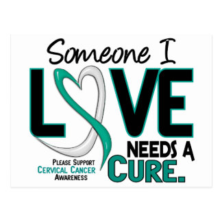 Cervical Cancer NEEDS A CURE 2 Postcard