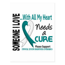 Cervical Cancer Needs A Cure 3 Postcard