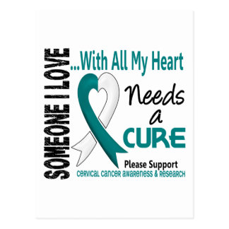 Cervical Cancer Needs A Cure 3 Postcard