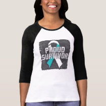 Cervical Cancer Proud Survivor T-Shirt