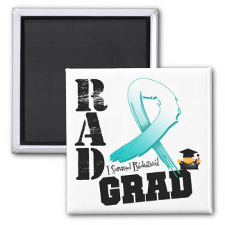 Cervical Cancer Radiation Therapy RAD Grad Refrigerator Magnet