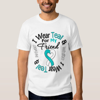 Cervical Cancer Ribbon For My Friend T Shirt