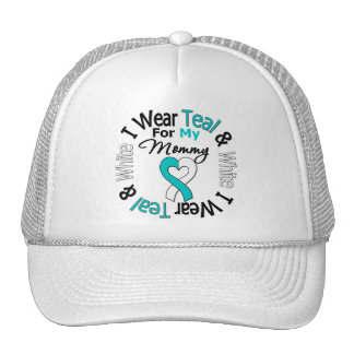Cervical Cancer Ribbon For My Mommy Trucker Hat