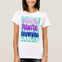 Cervical Cancer Stages T-Shirt
