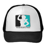 Cervical Cancer Strength Fight Like A Girl Trucker Hat