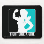 Cervical Cancer Strength Fight Like A Girl Mouse Pad