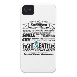 Cervical Cancer Strongest Among Us iPhone 4 Cases