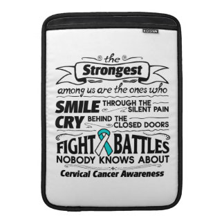Cervical Cancer Strongest Among Us MacBook Sleeve