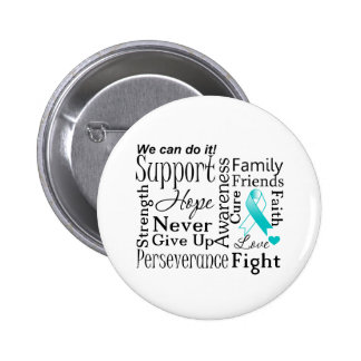 Cervical Cancer Supportive Words Pin