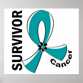 Cervical Cancer Survivor 12 Print