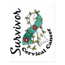 Cervical Cancer Survivor 15 Postcard
