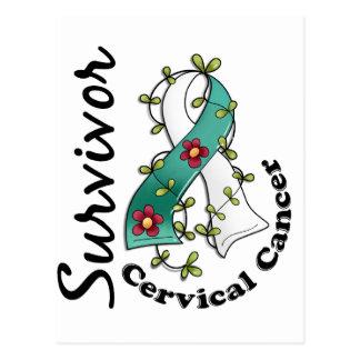 Cervical Cancer Survivor 15 Postcard