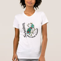 Cervical Cancer Survivor 15 T-Shirt