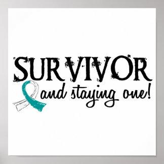 Cervical Cancer Survivor 18 Poster