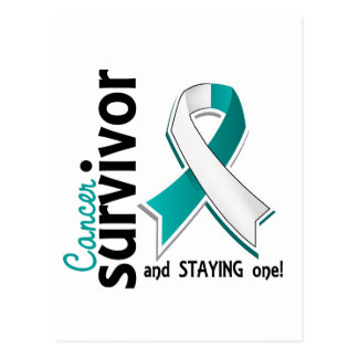 Cervical Cancer Survivor 19 Postcard