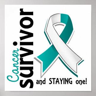Cervical Cancer Survivor 19 Poster