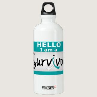 Cervical Cancer Survivor 24.png Water Bottle