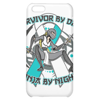 Cervical Cancer Survivor By Day Ninja By Night Cover For iPhone 5C