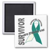Cervical Cancer Survivor Magnet