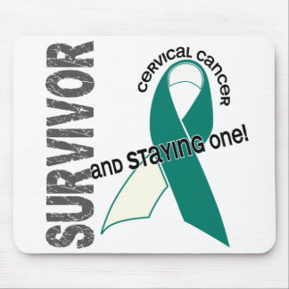 Cervical Cancer Survivor Mouse Pad