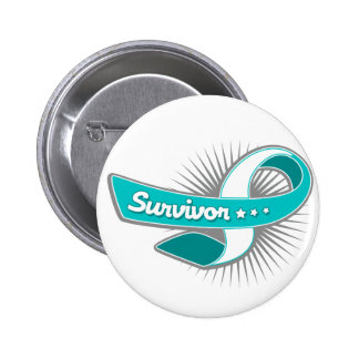 Cervical Cancer Survivor Ribbon Pin