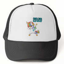 CERVICAL CANCER Survivor Stand-Fight-Win Trucker Hat