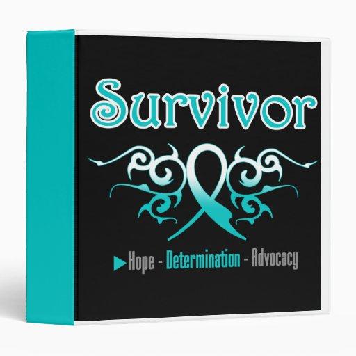 Cervical Cancer Survivor Tribal Medical Binder