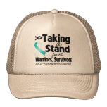 Cervical Cancer Taking a Stand Tribute Trucker Hat