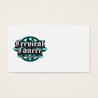 Cervical Cancer Tribal Business Card