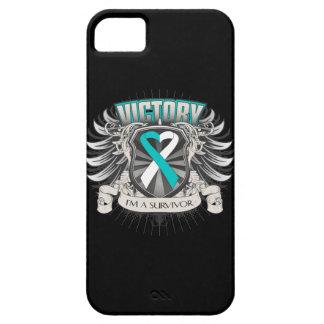 Cervical Cancer Victory iPhone SE/5/5s Case
