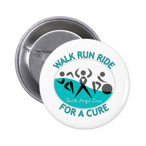 Cervical Cancer Walk Run Ride For A Cure Buttons