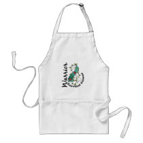Cervical Cancer Warrior 15 Adult Apron